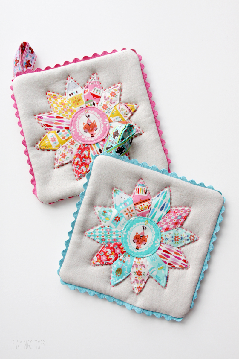 Wonderful Cute And Colorful Potholders