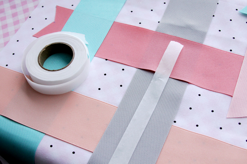 Fusing Ribbon to Fabric