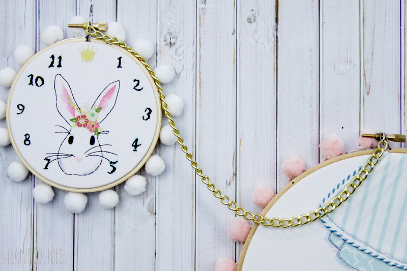 Pocket Watch Hoop