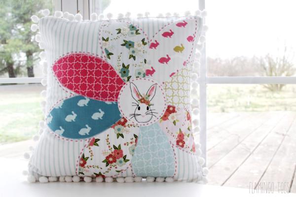 Spring Bunny Pillow