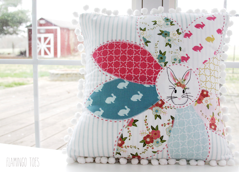 Sweet Bunny Pillow for Spring