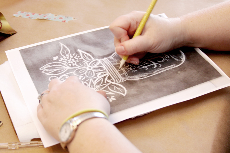 Tracing Designs for Painting