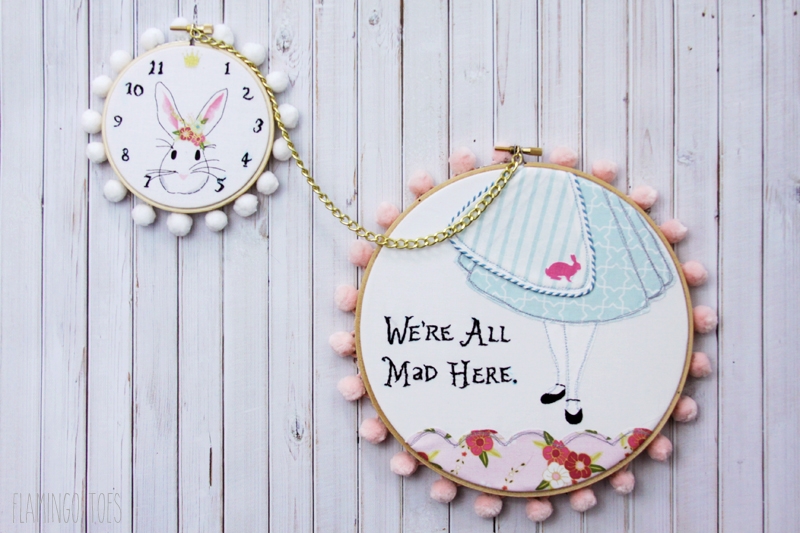 Wonderland Embroidery Hoop Set