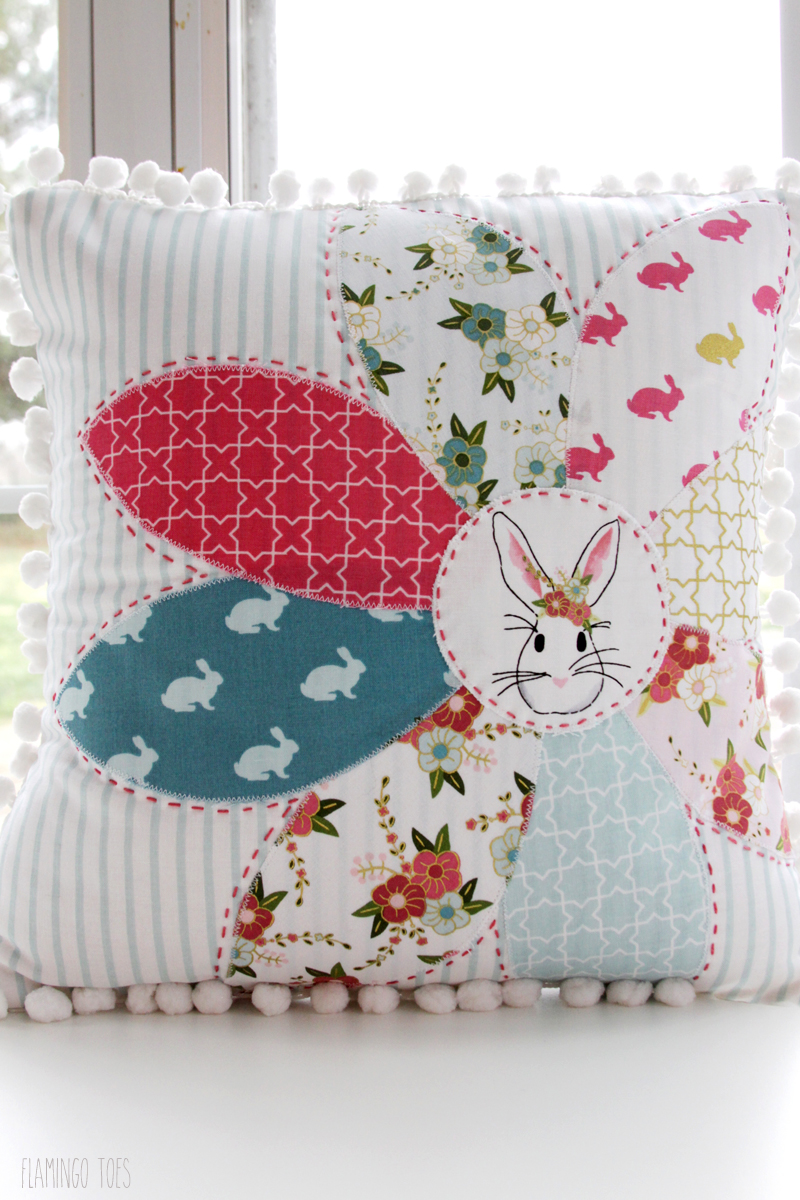 Simple and Sweet Wonderland Spring Pillow