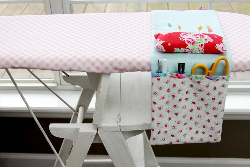 Fabric Ironing Board Organizer