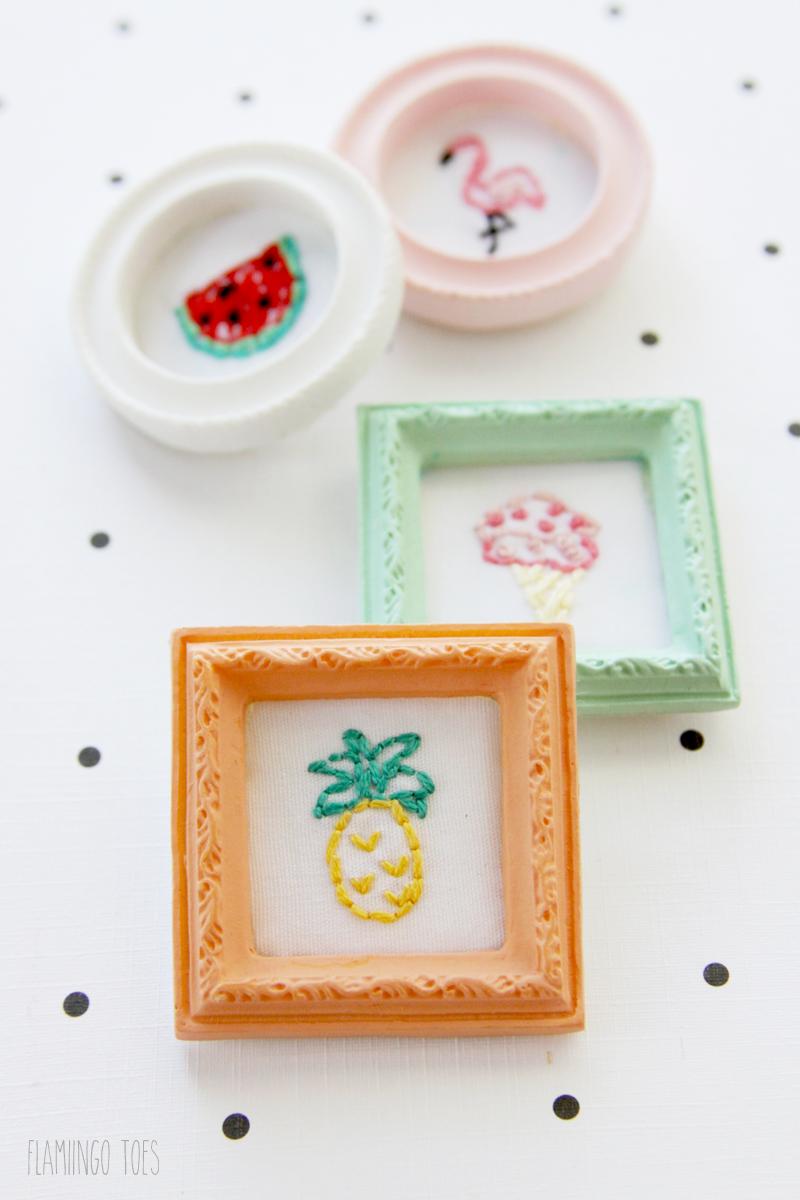 Mini Embroidery Frames