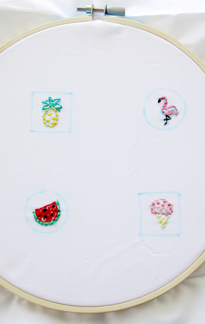 Mini Summer Embroidery