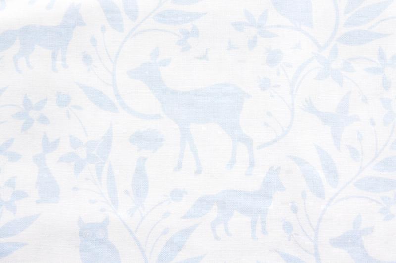 Pastel Woodland Fabric