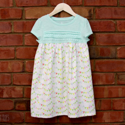 Simple and Sweet Dress Refashion