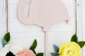 Flamingo Shutter Wall Art