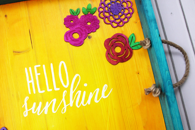 Hello Sunshine Serving Tray