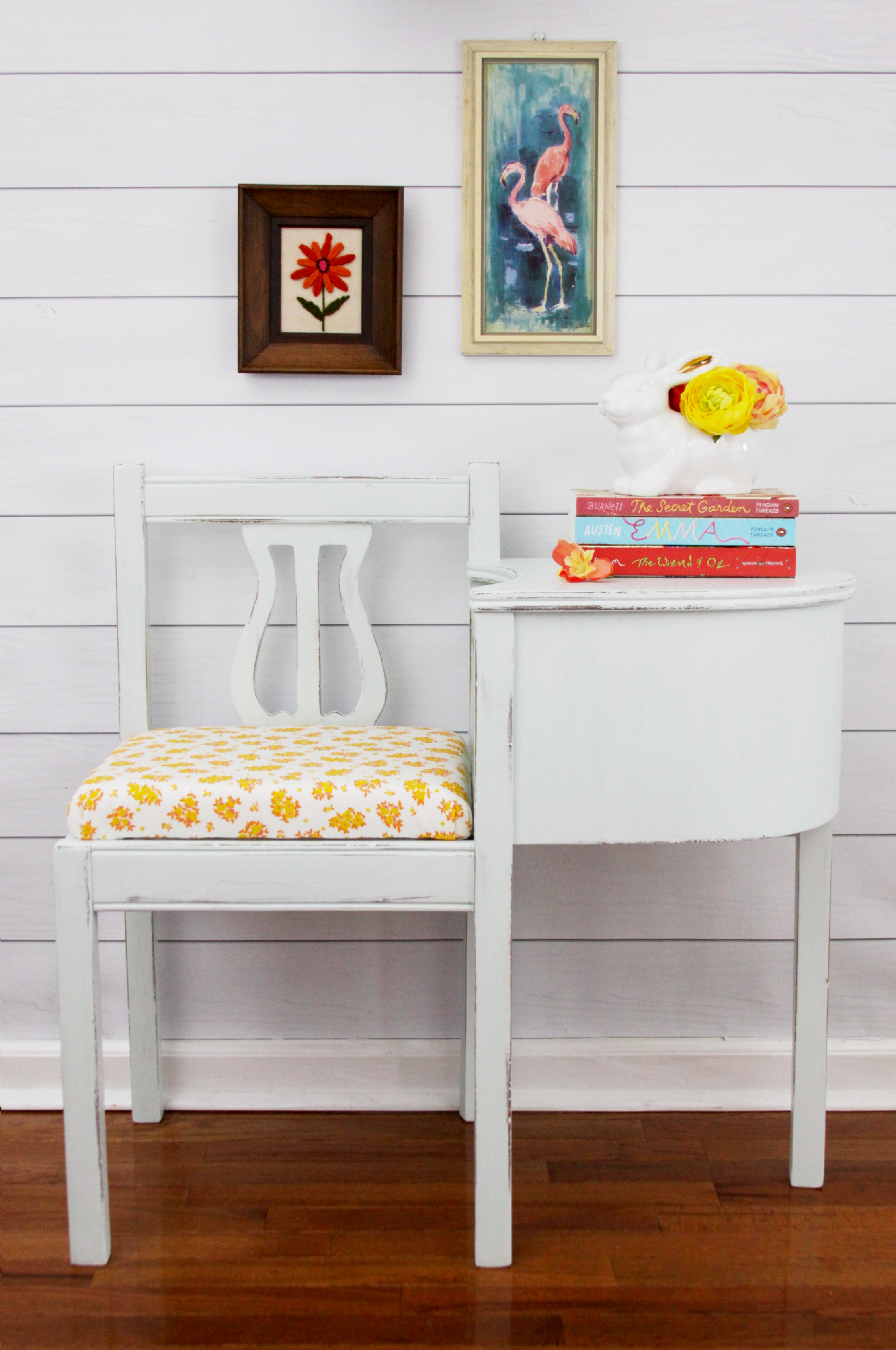 MIlk Paint Gossip Bench Refinish