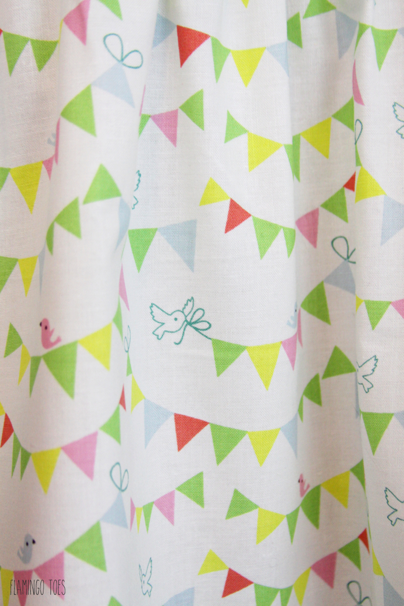 Pennant Fabric for Skirt