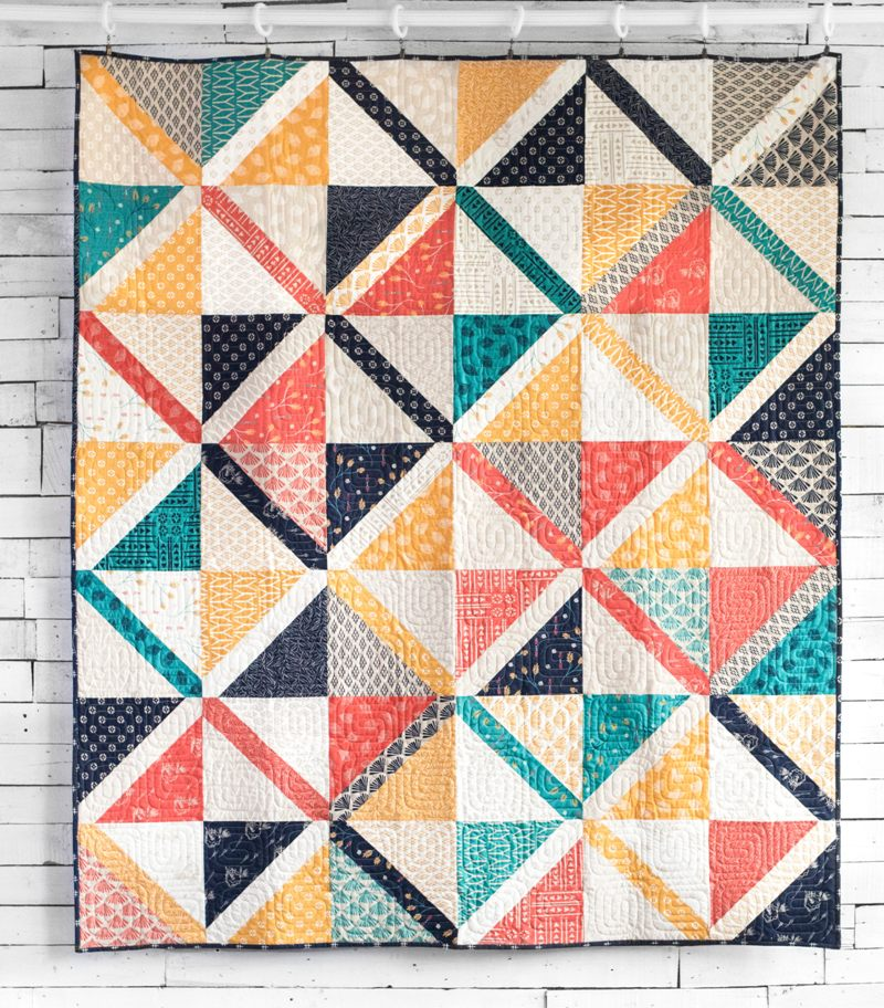 Pre-cut Short-cuts Craftsy Class Valley Quilt
