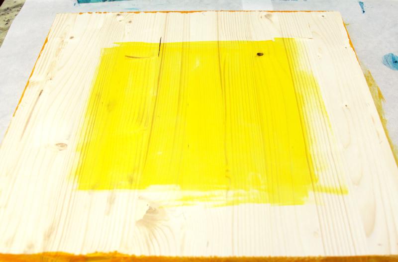 Yellow Ultra Dye on Tray