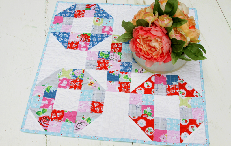 Colorful Mini Quilt