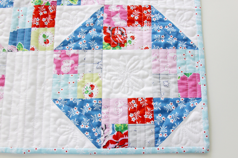 Daisy Machine quilting