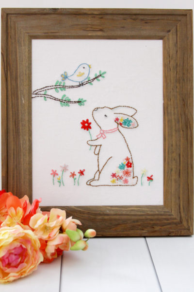Harriet and Rosie – New Floral Embroidery Patterns