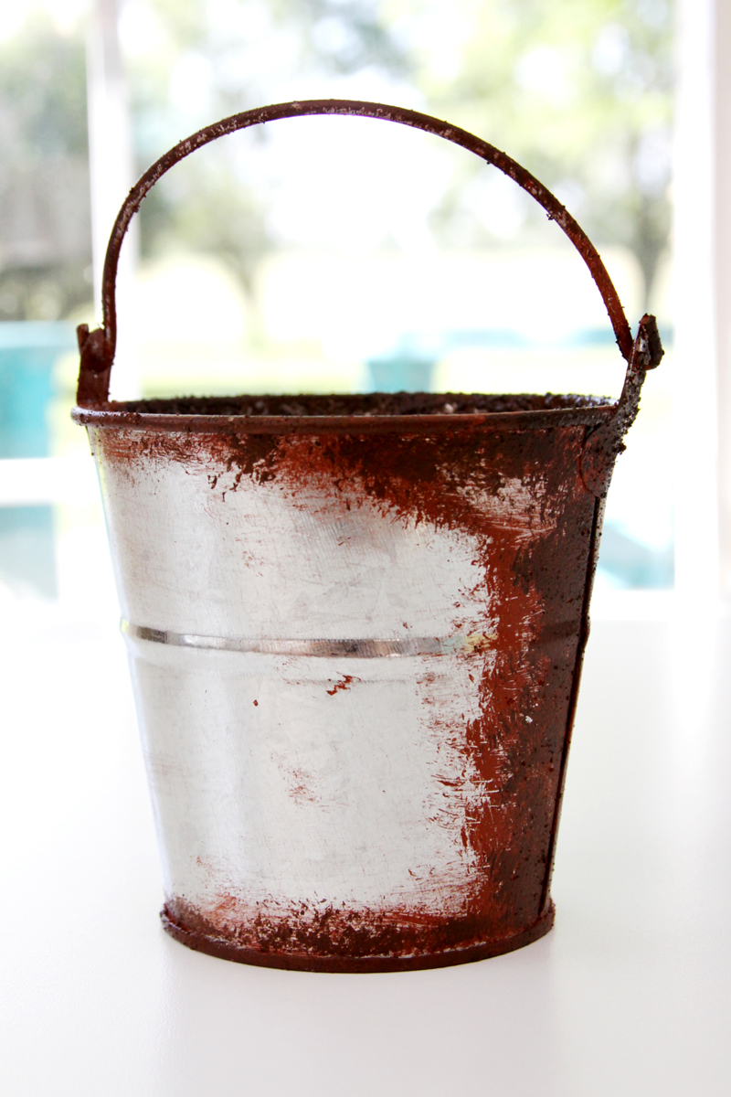 FolkArt Rust Finish