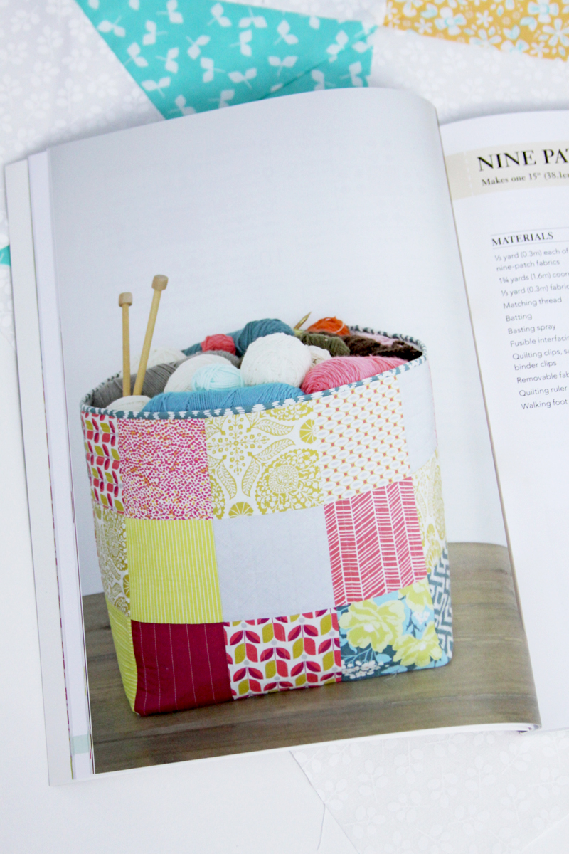Nine Patch Basket in Quilt Book