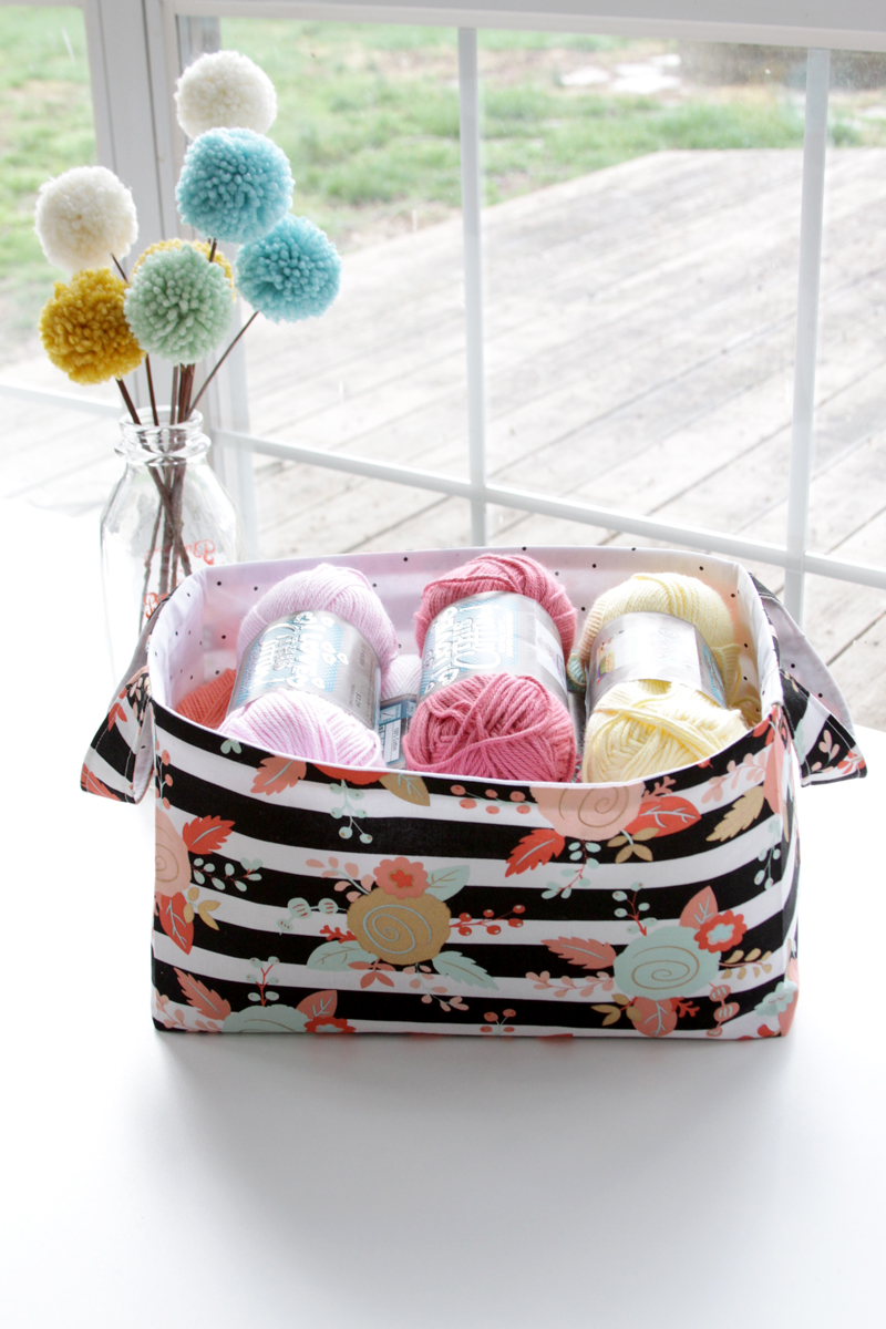 Simple Fabric Basket