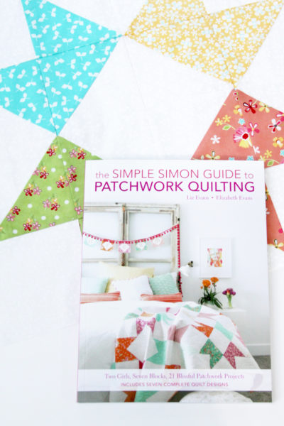 Simple Simon Patchwork Quilting Book and Giveaway