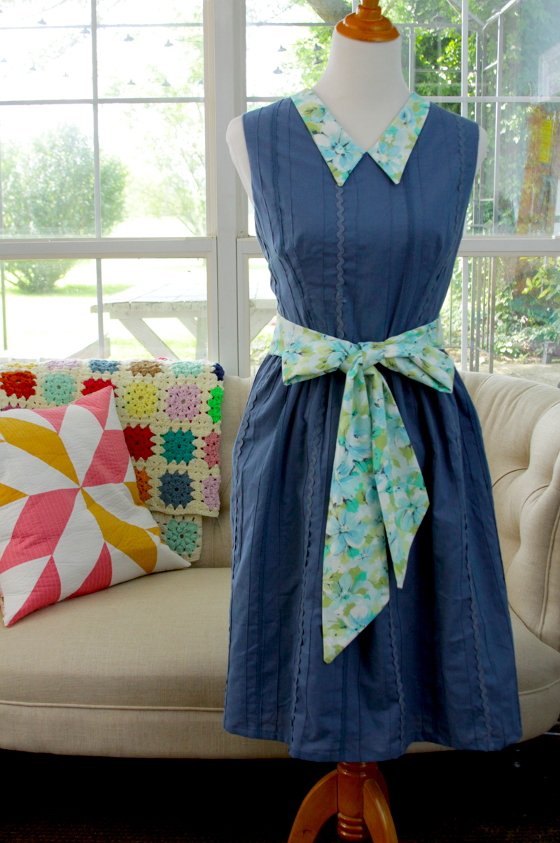 Vintage Style Sundress with Sash
