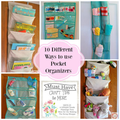 Must Have Craft Tips – Pocket Organizers