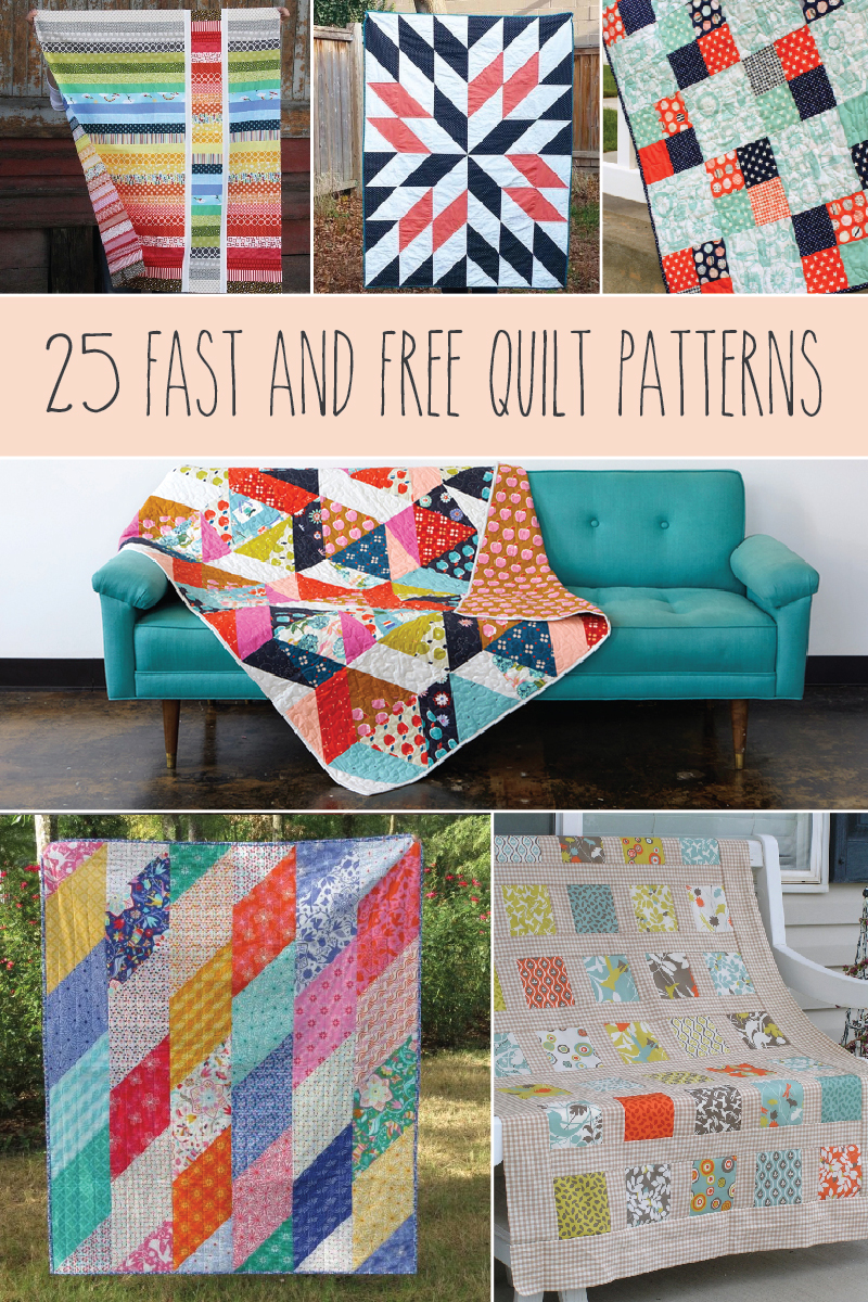 Super Easy Quilt Patterns Free Awesome Design Inspiration