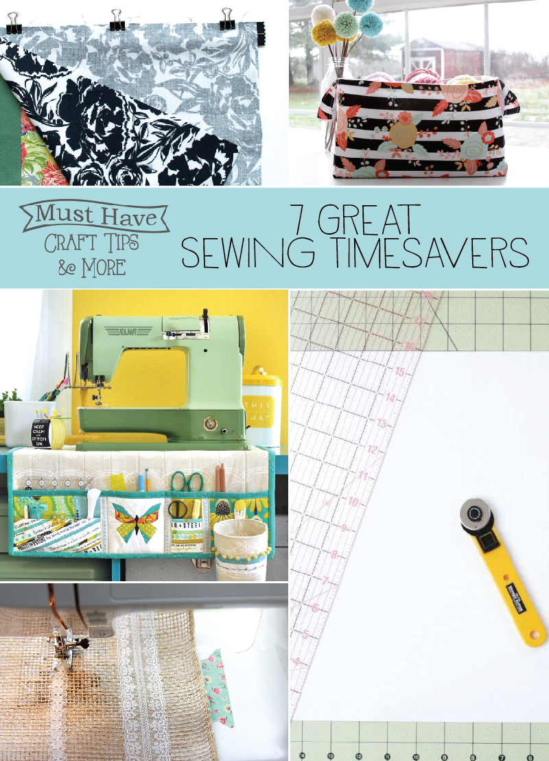 7 Great Sewing Timesavers