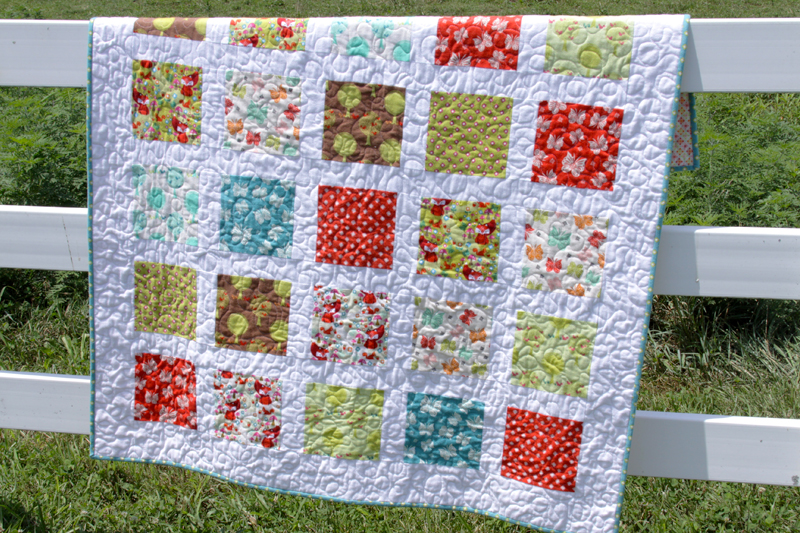Acorn Valley Fabric Quilt