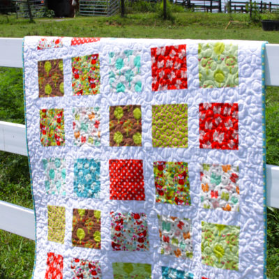 Acorn Valley Flannel Quilt