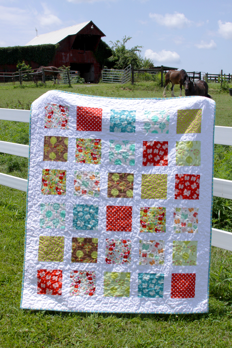 Flannel Windows Quilt