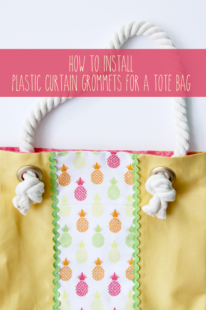How to Install Plastic Curtain Grommets