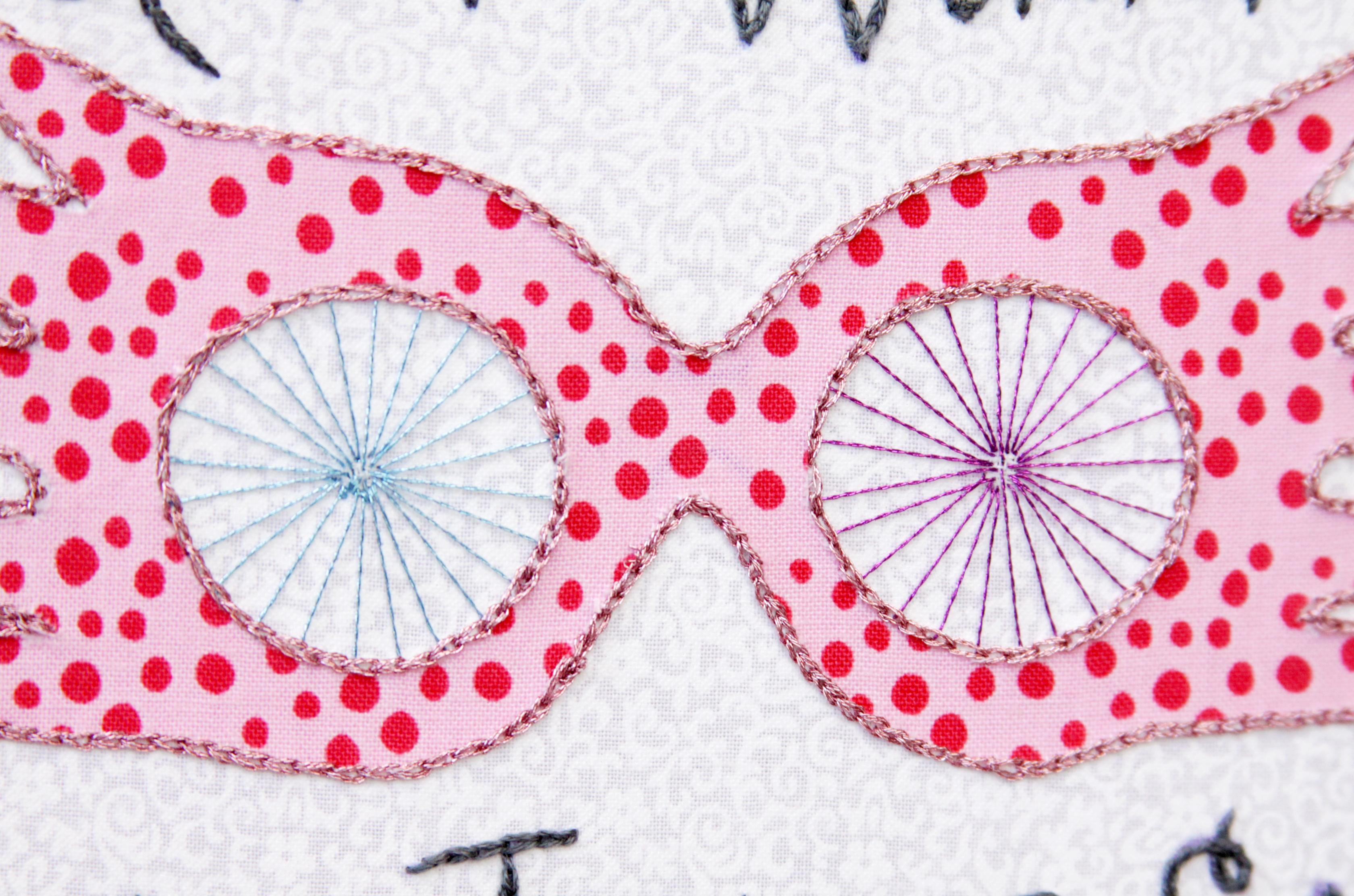 Luna Spectrespecs Embroidery