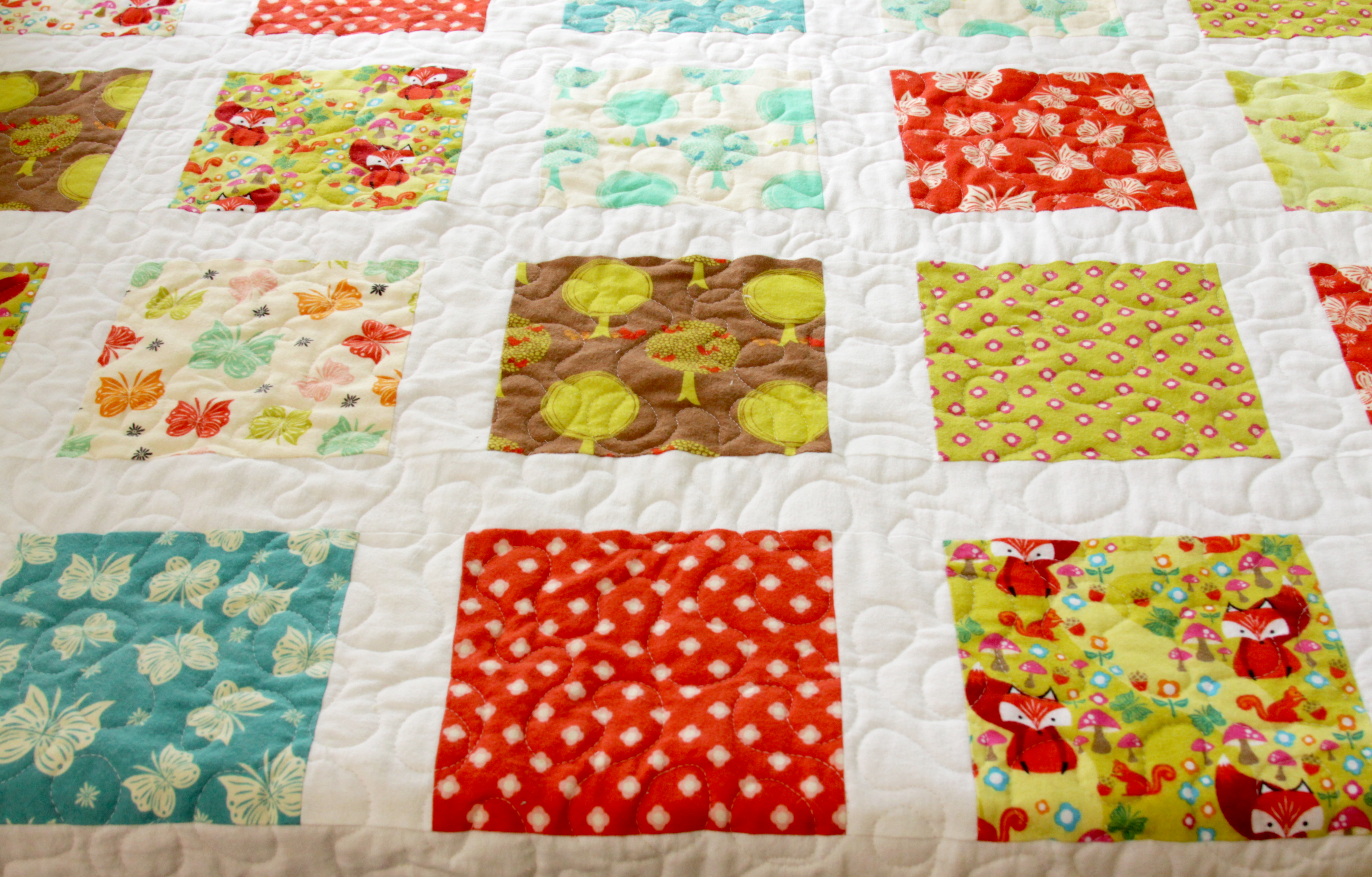 Simple and Cozy Flannel Quilt