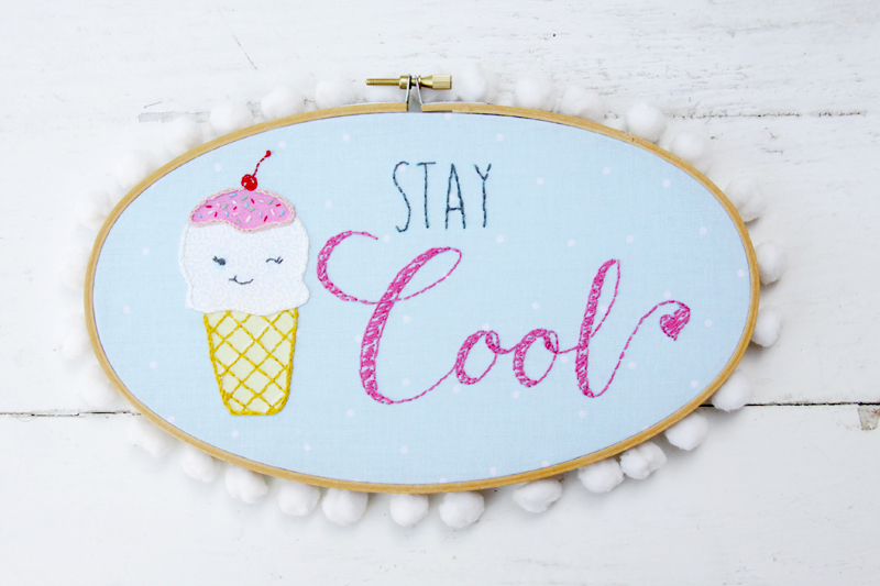 Stay Cool Ice Cream Hoop