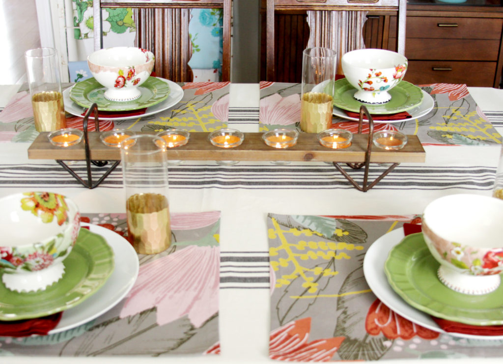 Colorful Fall Tableware