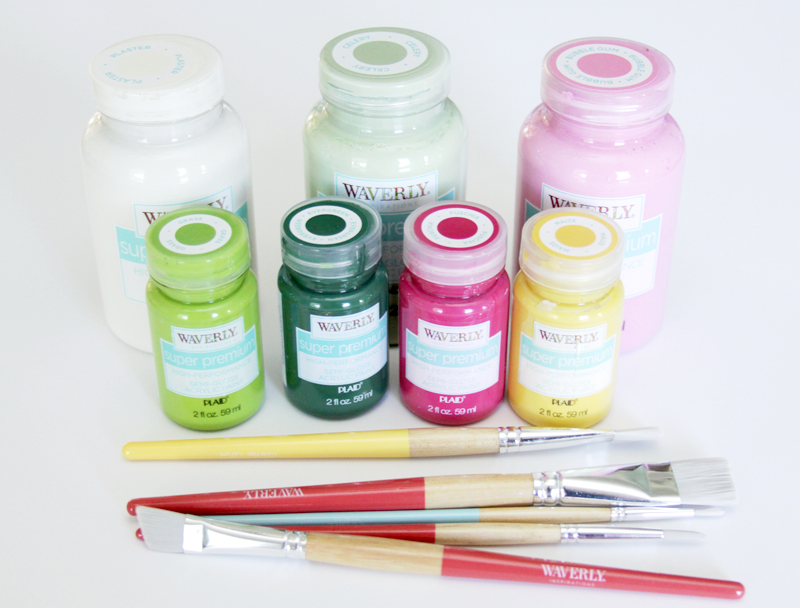 Waverly Paints and Brushes