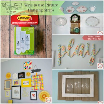 Must Have Craft Tips – Picture Hanging Strips