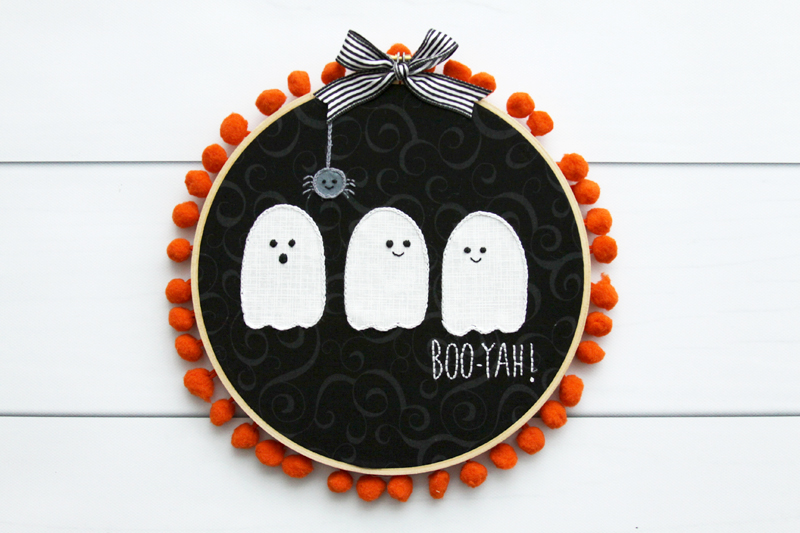 cute-ghost-embroidery-hoop-art