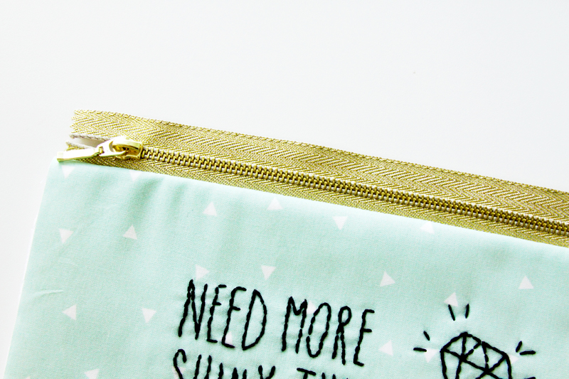 Gold Zipper for Zipper Pouch