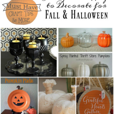 Must Have Craft Tips – Inexpensive Decorating Ideas