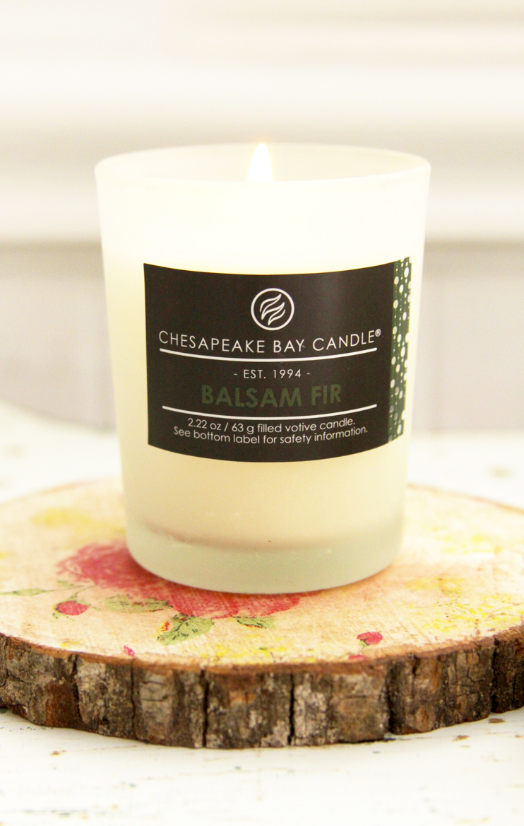 Pretty Candles and Rustic Floral Candle Coasters - these would be such a great gift!