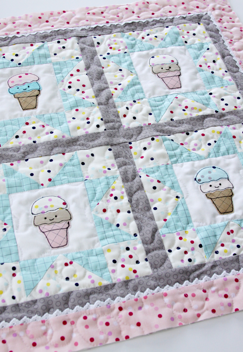 quilted-ice-cream-mini-quilt