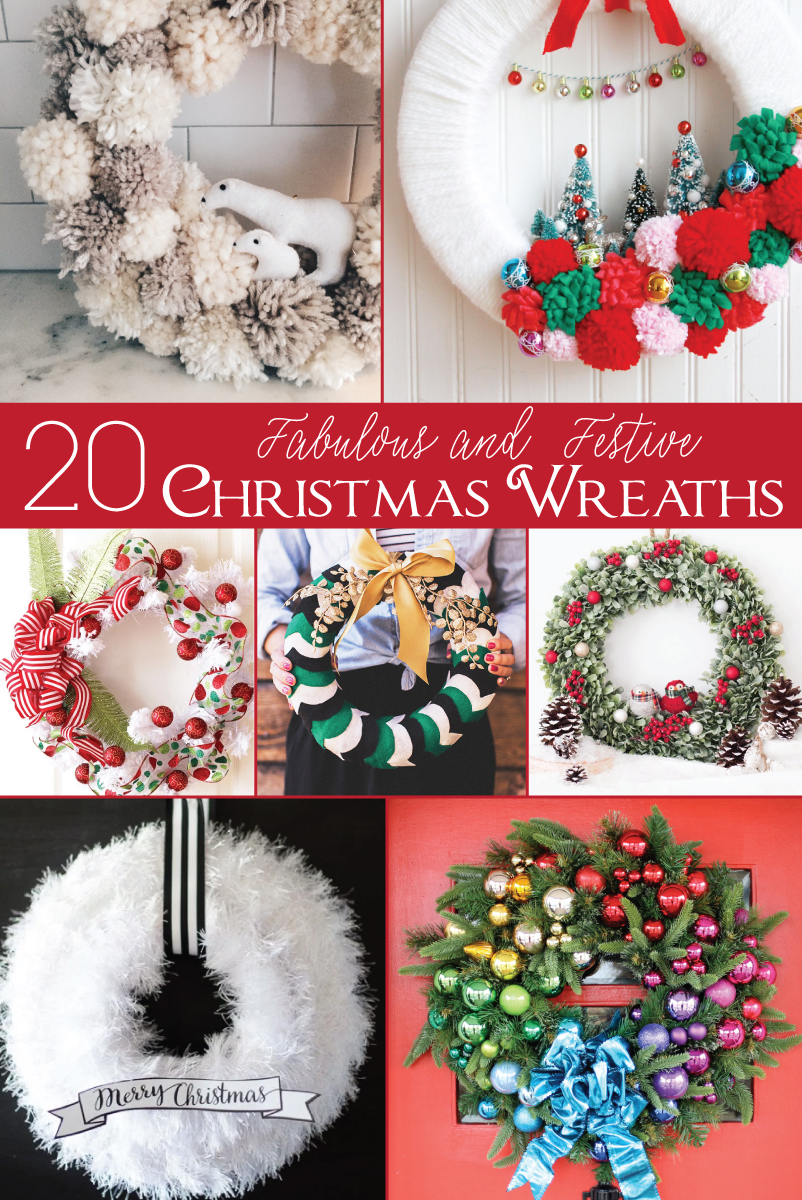 20 Fabulous and Festive Christmas Wreaths
