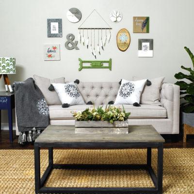 DIY Family Room Decor Collab