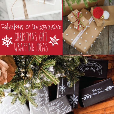 Inexpensive Christmas Wrapping Tips