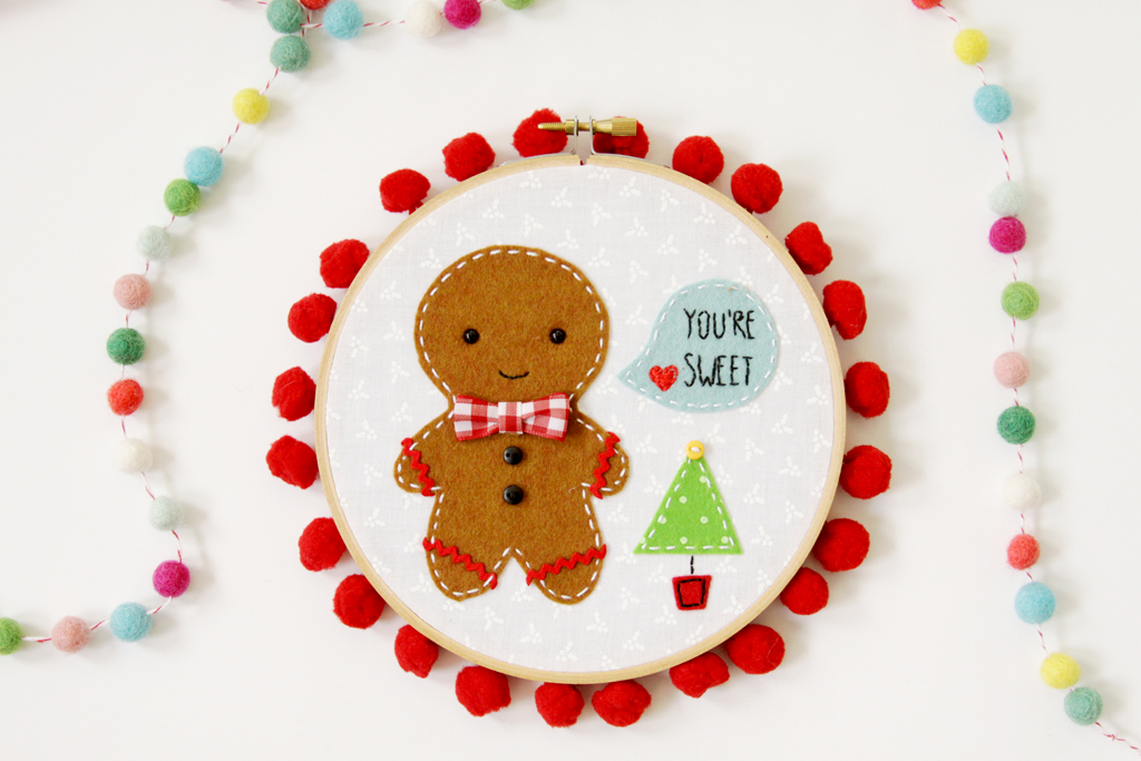 gingerbread-embroidery-hoop-art