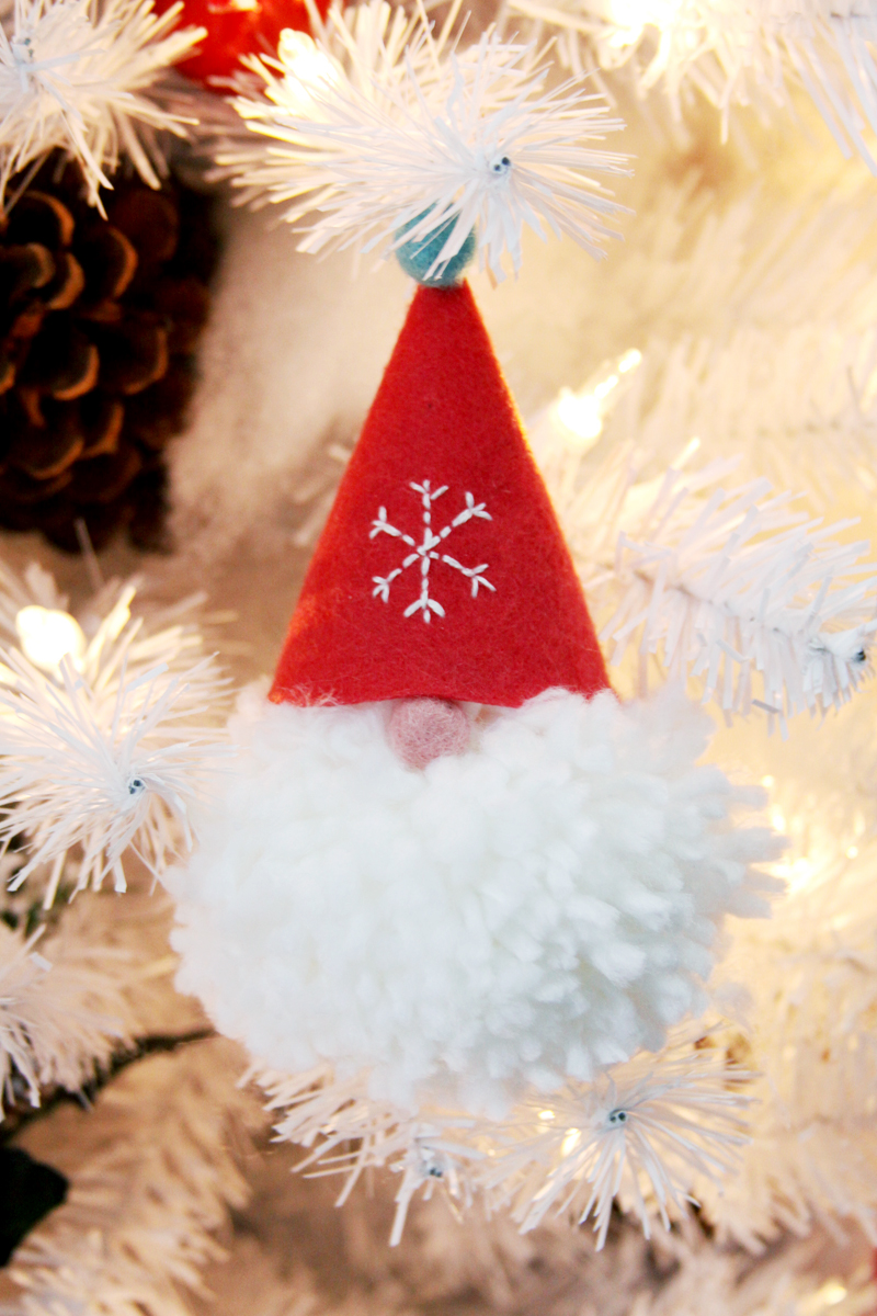 Wee Gnome Ornament Hat